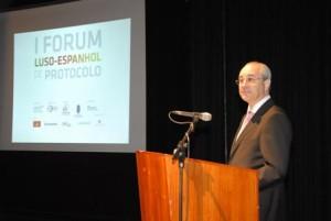 O Presidente da Câmara Municipal do Porto, Rui Rio, na sua alocução